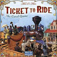 Настольная игра Ticket to Ride The Card Game (Билет на поезд Карточная игра)