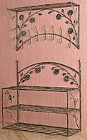 Комплект кованной мебели Step 06,банкетка и вешалка