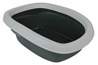 40111 TRIXIE Туалет для кота Карло 31х14х43 см серый