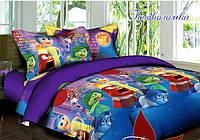 Детское полуторное постельное белье Головоломка