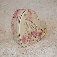 Коробка сердце S 15 x 11,5 x 5,5 см