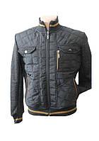 Демисезонная мужская  куртка VITOL-2 черный