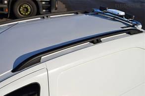 Рейлинги Fiat Doblo (2010-) /тип Crown, Черные