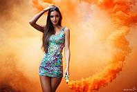 Набір кольорового диму 4-ри шашки, цветной дым, дымовые шашки