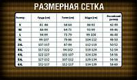 Размерная таблица одежды со склада с кодом УСП.