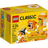 LEGO® Classic ОРАНЖЕВЫЙ НАБОР ДЛЯ ТВОРЧЕСТВА 10709