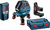 Нивелир лазерный линейный построитель плоскостей Bosch GLL 3-50 + BM1 + LR2 (0601063803)