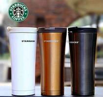 Термокружка Starbucks (Старбакс) высокая, фото 3