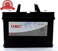 Аккумулятор с уровнем электролита автомобильный 12v 80A UKC