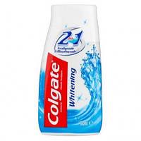 Зубная паста 2 в1 с отбеливающим эффектом Colgate Whitening 130 гр.