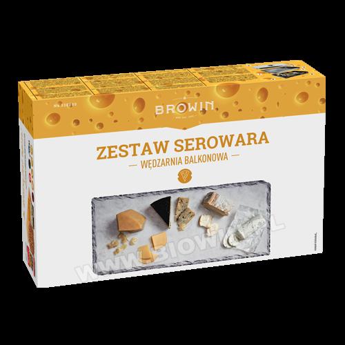 Набор коптильня с термометром для копчения сыра BIOWIN (Польша)