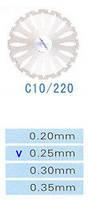 C10/220/0.25 диски алм.двухст.