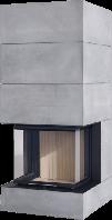 Камин с водяным контуром Brunner BSK 06 Architecture 45/101 lifting door