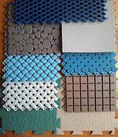 Модульные противоскользящие покрытия из ПВХ