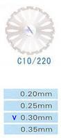 C10/220/0.30 диски алм.двухст.