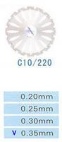 C10/220/0.35 диски алм.двухст.