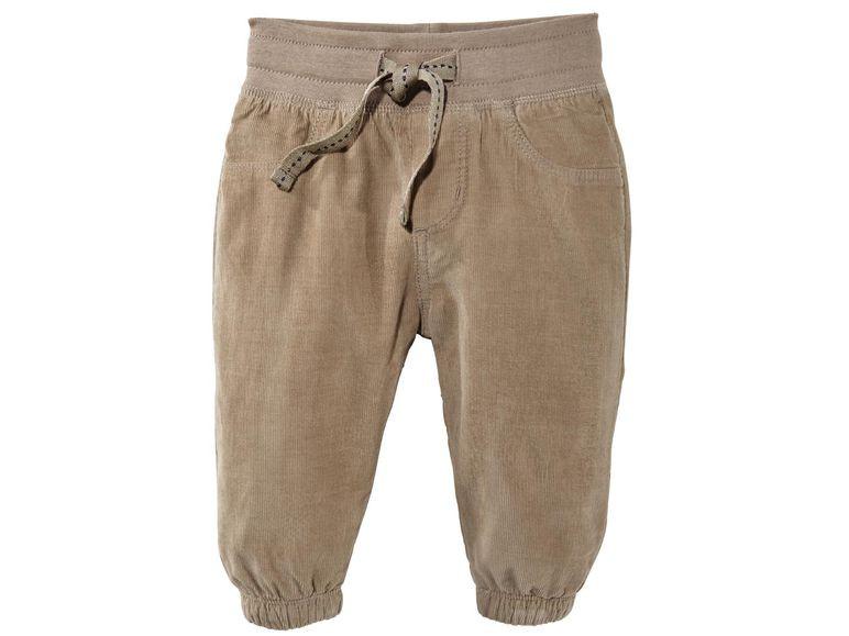 Штаны вельветовые коричневые Lupilu р.62, 68см