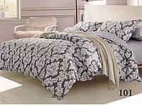 Полуторный комплект постельного белья сатин-твил 101