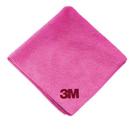 Микрофибровая салфетка - 3M Perfect-It III Ultra Soft Cloth розовый (50489), фото 2