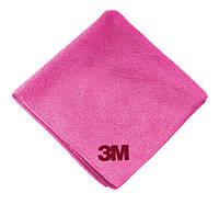 3M 50489 Микрофибровая салфетка Perfect-It III Ultra Soft Cloth Розовая