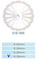 C10/400/0.35 диски алм.двухст.