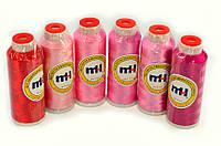 Нитки вискоза для машинной вышивки (2742метра)120d2 MH industry