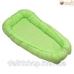 Гніздо для немовлят ТМ «Omali» зелене однотонне