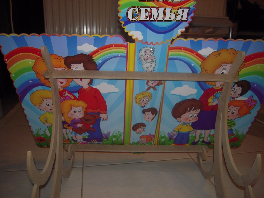 Декоративні стенди для дитячих постанов. 6