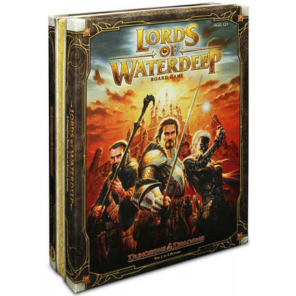 Настольная игра Dungeons & Dragons: Lords of Waterdeep (Лорды Уотердипа), фото 2