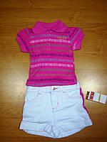 Комплект (футболка.+шорты) для девочек