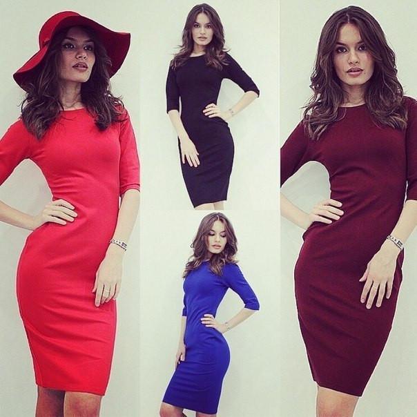 Платье трикотажное розница