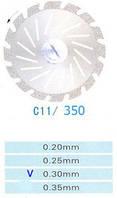 C11/350/0.30 диски алм.двухст.