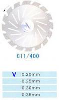 C11/400/0.20 диски алм.двухст.