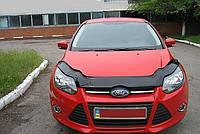 Дефлектор капота (мухобойка) Ford Focus III 2011-2015