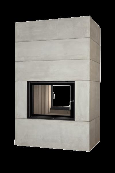Камин с водяным контуром Brunner BSK 08 Style Tunnel 51/67 side-opening door