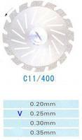 C11/400/0.25 диски алм.двухст.