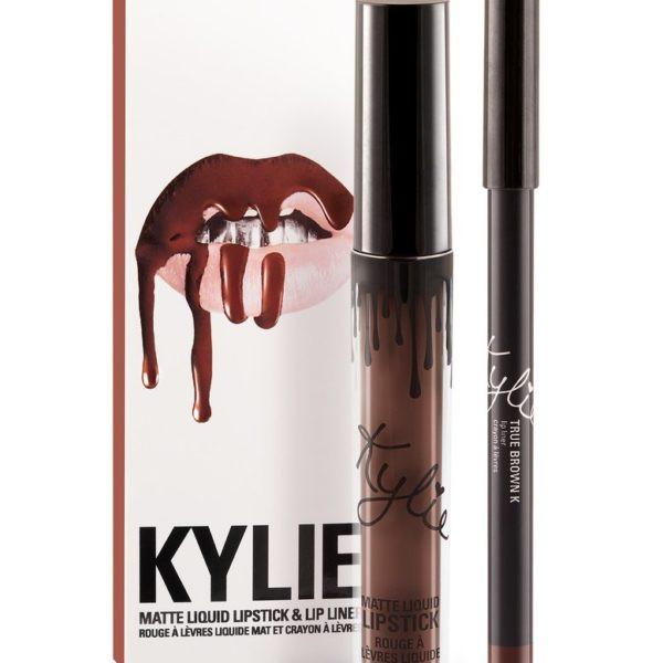 Матова помада в стилі Kylie олівцем - True Brown