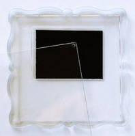Свадебный магнитик (фигурный, прозрачный)