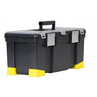 Ящик для ручного инструмента Stanley Classic (556 х 257 х 248мм) пластмасс, с метал. замками