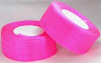 Лента органза 3,8см ультра-розовая от 2 шт