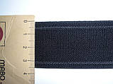 Резинка декоративная 35мм, черная, фото 2