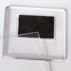 Свадебный магнитик (квадратный, прозрачный)
