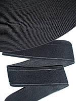 Резинка декоративная 35мм, черная
