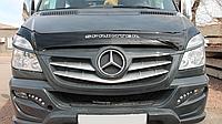 Дефлектор капота (мухобойка) Mercedes-Benz Sprinter 2013-