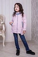 Дизайнерская демисезонная куртка для девочки 140-158
