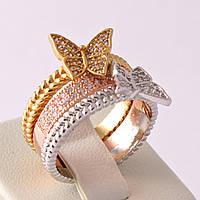 """Кольцо Xuping Jewelry """"Бабочки"""""""
