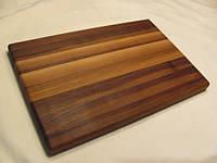 Кухонная разделочная доска классическая из ореха 45х30х3 см К45*30