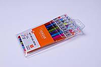 Набор гелевых ручек Tukzar TZ-5237-6,0.5 mm,разные цвета 6 шт/упаковка