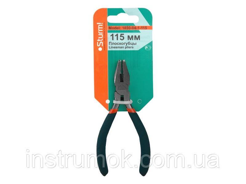 Плоскогубцы 115мм (Soft hand mini) Sturm 1030-04-1-115