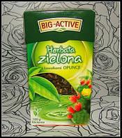 Зеленый чай с цветком опунции Big-Active Herbata zielona 100 гр